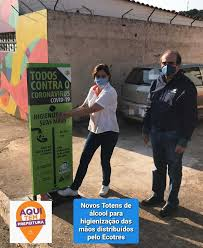 Prefeitura Municipal de Ouro Branco - Ouro Branco recebe totens de ...